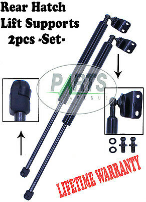 2 Rear Trunk Hatch Lift Supports Shocks Struts Arms Props Rods Coupe No Spoiler