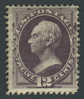 USA 1870 SG.153 12 cents Purple Mounted Mint
