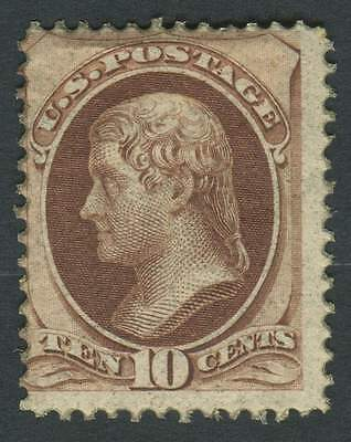 USA 1870 SG.210 10 cents, Mounted Mint