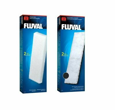 Fluval U3 Internal Filter Media Replacement Foam Pad Poly Carbon Fish Tank