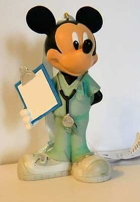 Disney Parks Mickey Mouse Doctor Christmas Holiday Figure Ornament New