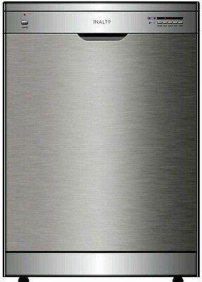 InAlto 60cm Stainless Steel Freestanding Dishwasher IDW6S
