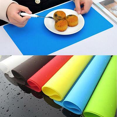 Silicone Flexible Baking Mat Placemat Non Slip Stick Pan Liner Table Protector