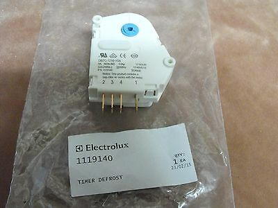 1119140: Electrolux Refrigerator Defrost Timer 12Hrs,10 Mins.Drip Time
