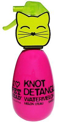 Pet Head 6.7 oz Knot Detangler Watermelon Scented For Cats Grooming