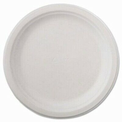 """Chinet Classic Paper Plate, 9 3/4"""" dia, White, 125/Pack, 4 Packs (HUH21232)"""