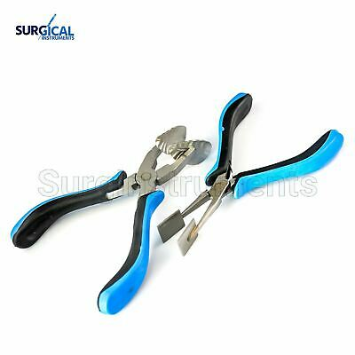 Mini Masher Pliers And Leaf Mashing Pliers for Glass Work