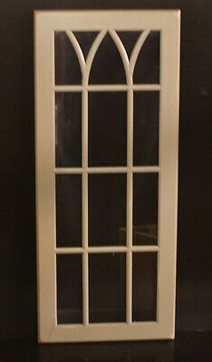 "Kraftmaid Kitchen Unfinished Maple Glass Door For 15""x42"" or Corner Wall Cabinet"