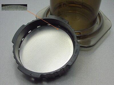 AeroPress Filter Solid Stainless - Perky Brew Reusable Metal Steel Coffee Filter