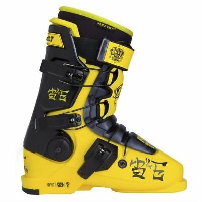 2014 Full Tilt B&E Yellow/Black Size 24.5 Men's Ski Boots