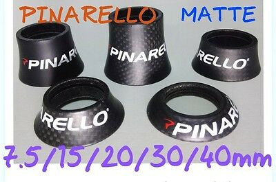 PINARELLO Full Carbon CONE SPACER 7.5 15 20 30 40 mm MATTE FINISH 3K UD bicycle