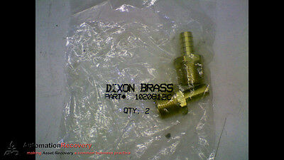 Dixon Brass 1020812C *Pack Of 2* Male Hose Barb Standard Hose Fitting, N #156332