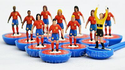 SPAIN * The NEW SUBBUTEO * New Unboxed Team Football Game Figures Paul Lamond