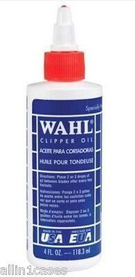 Brand New Genuine Wahl Clipper Oil 118ml for Hair Clippers 3310-517