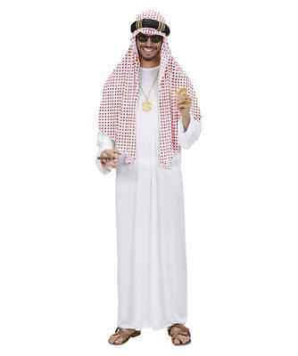 Arab Sheik Deluxe  Fancy Dress Costume Sultan Medium/large, Quality