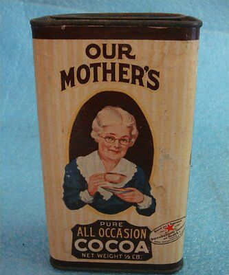 ALL MOTHERS & MONARCH COCOA VINTAGE TINS IN A PACKAGE DEAL (2) tins