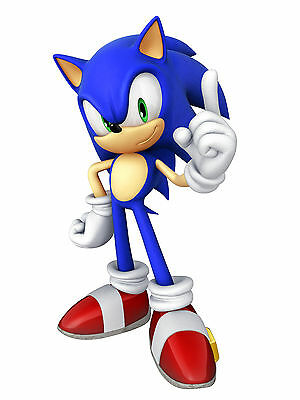 A3 Sonic The Hedgehog Poster Print Wall Art - Buy2Get1Free (Son3) - Tails/mario