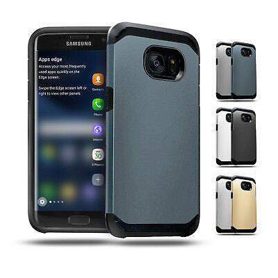 Shockproof Heavy Duty Tough Armor Case Cover For Samsung Galaxy S7 S6 edge