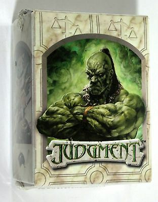 MTG Magic The Gathering JUDGMENT OFFICIAL DECK BOX 2002 Ultra Pro #88925 SEALED