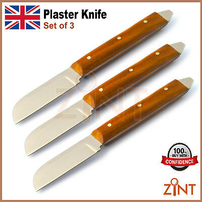 3 pcs Dental Plaster Alginate Knife Lab Mixing Spatula Flexible Wax Modlling Lab