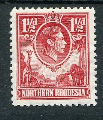 Northern Rhodesia KGVI 1938-52 1.5d carmine-red SG29 mounted mint