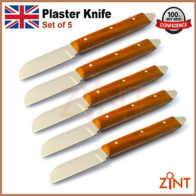 5 pcs Dental Plaster Alginate Knife Lab Mixing Spatula Flexible Wax Modlling Lab