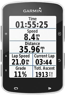 "Garmin Edge 520 2.3"" Display Bluetooth Bike Bicycle Cycling GPS Computer Unit"
