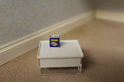 DOLLS HOUSE( Handcrafted Metal Spam Tin
