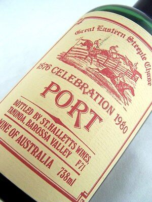 1980 ST HALLETTS Great Eastern Steeplechase Port C FREE SHIP Isle of Wine