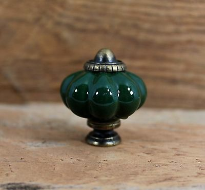 Door Pulls Knobs Handle Set Of 6 Cast Iron Ceramic Green Sparkle Cabinet Drawer