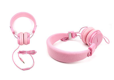 Premium Pink Lightweight Kids Padded Headphones for Sony NW-A20/NW-AH25N Walkman