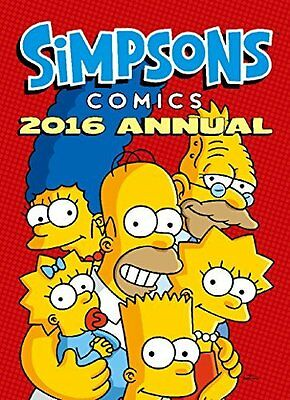 The Simpsons - Annual 2016 (Annuals 2016) by Matt Groening New Hardback Book