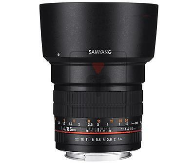 Samyang 85mm f/1.4 AS IF UMC per Canon EOS
