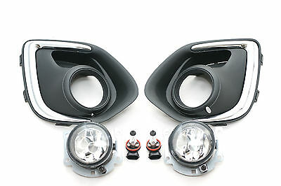 Front Fog lamp light Set left right Mitsubishi Asx Outlander Sport RVR 2013-2015
