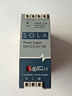 Sola Power Supply SDN2.5-24-100