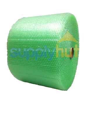 "3/16"" Recycled Small Bubble Cushioning Wrap Padding Roll 1050'x 12"" Wide 1050FT"