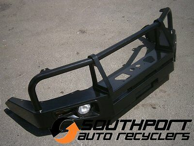 Toyota Hilux Bull Bar Winch Bar With Lights Suit 2011 - 2015 Models