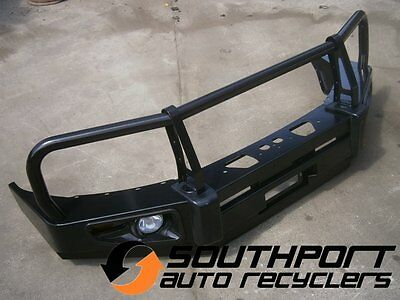 Ford Ranger Bull Bar Winch Bar With Lights Suit Px 2011-2015 Models *new*