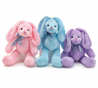 Easter Bunny 18 Inch Plush Toy (Assorted Colors)