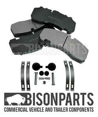 Bpw Trailer Axle Front & Rear Brake Pad Set With Fitting Kit 29167