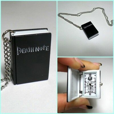 Collana Catenina Orologio Tasca DEATH NOTE CosPlay Anime MANGA Giapponese
