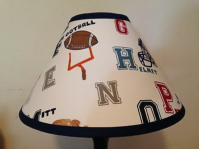 Liam Sports Fabric  Lamp Shade M2M Pottery Barn Kids Bedding