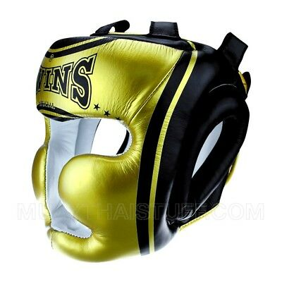 Twins Special Fancy Classic Headgear Boxing Head Gear Guard Sparring