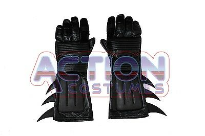 NEW Batman Adult Gloves 80's Style