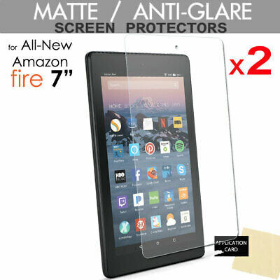 "2x ANTIGLARE MATTE Screen Protectors Amazon Fire 7"" 9th 7th Generation 2019 2017"