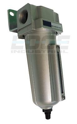 1/2 Heavy Duty Particulat Filter Water Trap Separator Compressed Air, Auto Drain