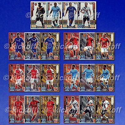 Match Attax + EXTRA 2015-2016: LIMITED EDITIONS, HUNDRED CLUBS. Free post. New