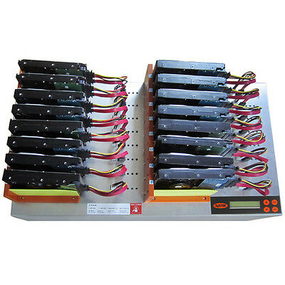 """Systor 1:15 HDD/SSD Duplicator, Flatbed - Copy & Erase 3.5"""" & 2.5"""" Hard Drives"""
