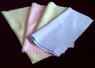 10pc Microfiber Cleaning Cloth For Camera Cell Phone Tablet Screens Glasses Lens