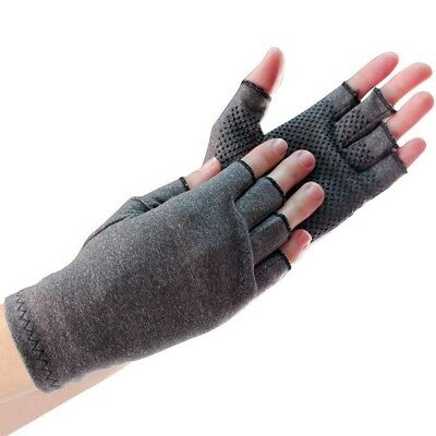 Mens or Womens Compression Gloves Arthritis Blood Circulation Edema Pain Relief